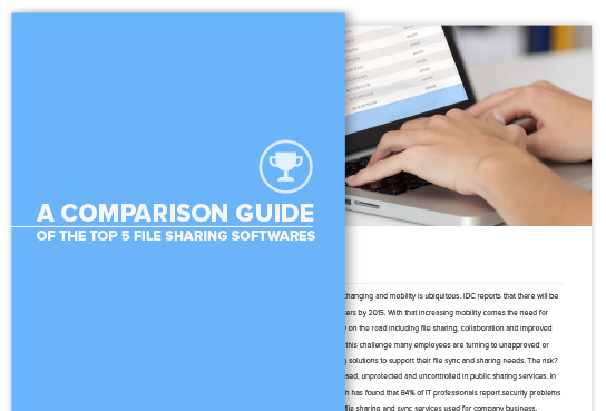 comparison guide top 5 file sharing softwares