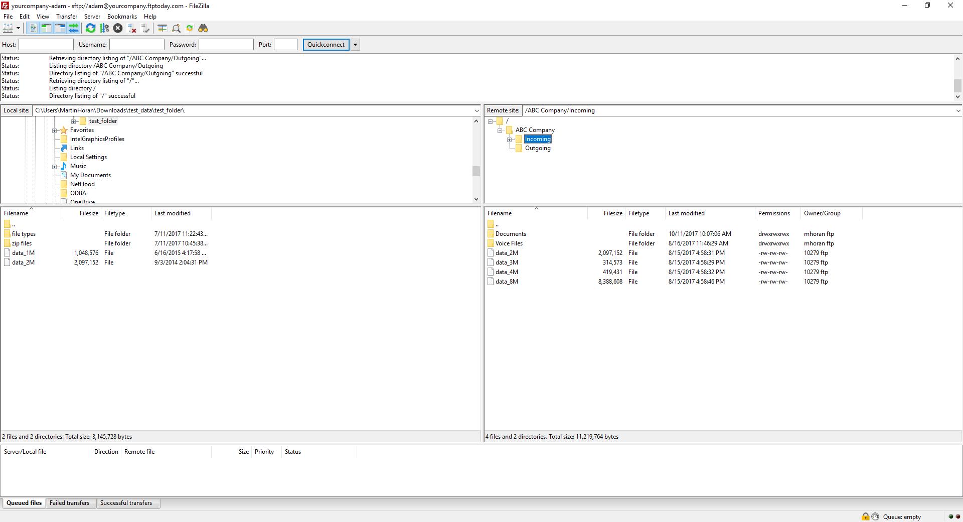 FTP Client Compatible